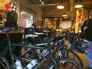 Mellow Johnny's Bike Rack & Coffee Lounge