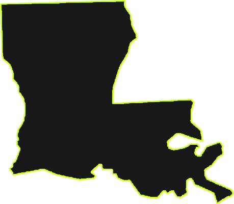 Louisiana State Outline
