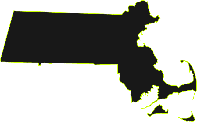 Massachusetts State Outline